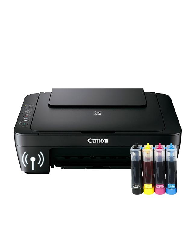 Impresora Canon E471 Sistema Tinta Continua
